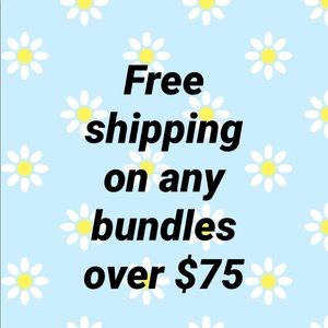 Free shipping deal on any purchase over $75